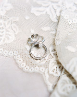 wedding rings lace
