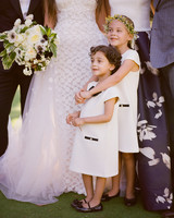 alessa andrew wedding flower girls