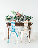 ballet inspired sweetheart table