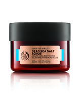 body shop spa of the world dead sea salt scrub
