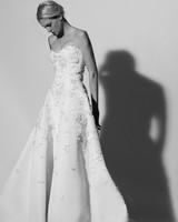 sweetheart a-line Carolina Herrera Wedding Dress Spring2018