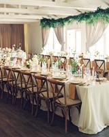 cassandra jason wedding reception table