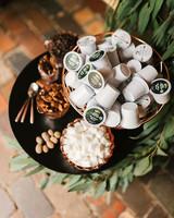 coffee wedding ideas self serve k-cups bar