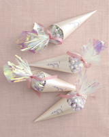 diy bridal shower favors opal candy cones su10