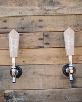 wedding beer taps