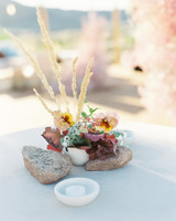 jeanette david wedding reception table details