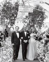 jess todd wedding seattle processional
