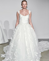 justin alexander fall 2018 cap sleeve ballgown wedding dress