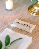 kate austin wedding placecard tile