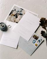 katie matthew ohio wedding invitation