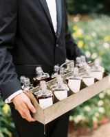 kendall nick wedding bottled drink