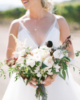 kiersten ruairi wedding bouquet