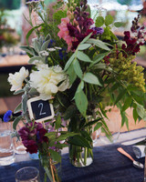 chalkboard wedding table number