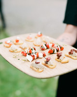 margaux patrick wedding appetizers