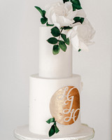 monogram wedding cake grace and blush almspasteles