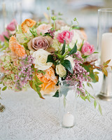 natalie jamey wedding centerpiece