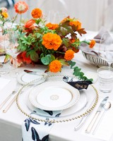 natalie louis wedding place setting