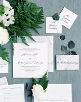 stephanie matt wedding stationery