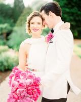 stephanie nikolaus wedding couple embracing