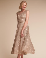 Summer Mother of the Bride Dress, BHLDN Presley Champagne Dress