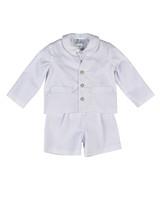 Florence Eiseman White Pique Eton Suit