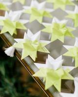 Moravian Star Escort Cards