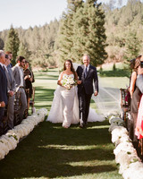 alessa andrew wedding processional
