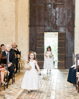 amanda patrick wedding flower girls