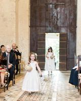 amanda patrick wedding flower girls