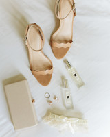 Nude Heeled Sandals