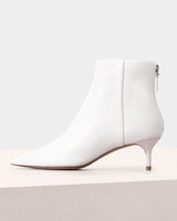 white bridal booties alexandre birman kittie heel