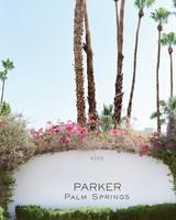 wedding parker