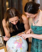 Guest Book Globe