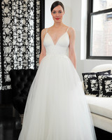 v-neck tulle catherine deane wedding dress spring 2018