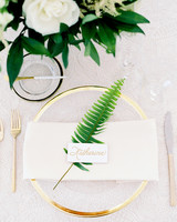 dani jackson wedding place setting