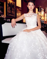 isabelle armstrong wedding dress fall 2018 high neck embellished ball gown