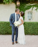 jannicke paal france wedding couple kiss