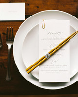 joanna jay wedding place setting