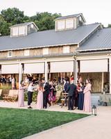 julianne aaron wedding cocktail hour