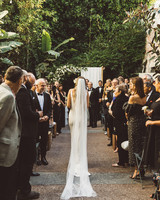 kaily matt wedding los angeles processional
