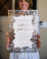 Laser-Cut Wedding Invites