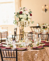 niara allen wedding table tall centerpiece