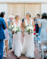 paige and kristine wedding recessional