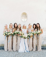 rachael cameron wedding bridesmaids