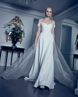 off-the-shoulder sweetheart neck a-line romona keveza collection spring 2020