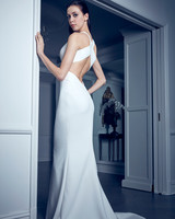 cutout back a-line romona keveza collection spring 2020