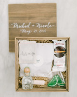 46 welcome bags from real weddings martha stewart weddings welcome box junglespirit Image collections