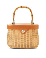willow anniversary gift wicker bag