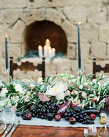 amanda patrick wedding centerpieces