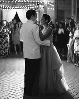 amanda william wedding tennessee first dance black and white